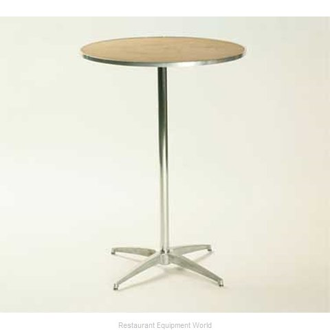 Maywood Furniture MP30RDPED3042 Table, Indoor, Adjustable Height (Magnified)