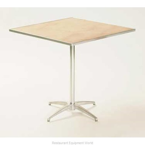 Maywood Furniture MP30SQPED42 Table, Indoor, Bar Height (Magnified)