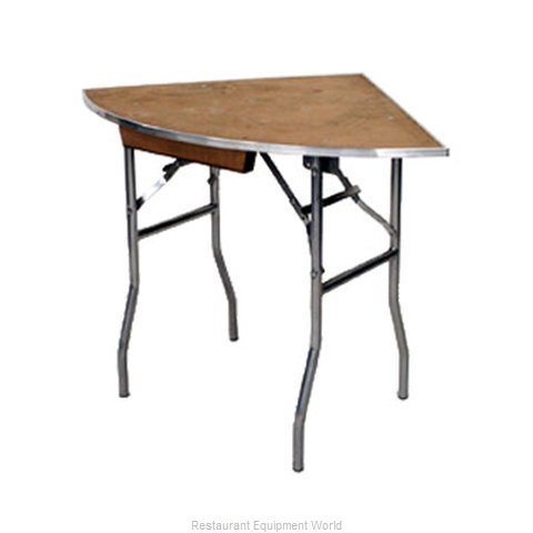 Maywood Furniture MP36QRFLD Folding Table, Round