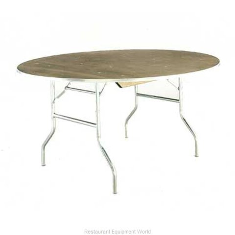 Maywood Furniture MP36RDFLD Folding Table, Round