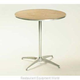 Maywood Furniture MP36RDPED30 Table, Indoor, Dining Height