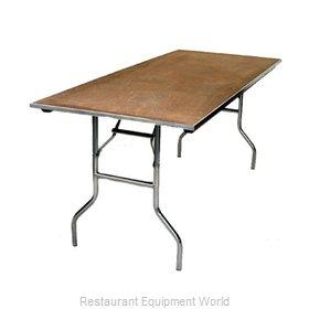 Maywood Furniture MP4872 Folding Table, Rectangle