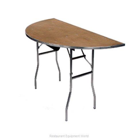 Maywood Furniture MP66HR Folding Table, Round