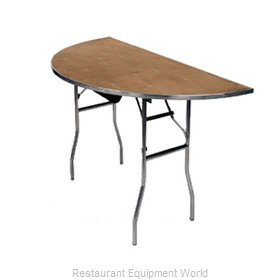 Maywood Furniture MP72HR Folding Table, Round