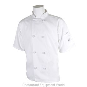 Mercer Tool M60014WHXS Chef's Jacket