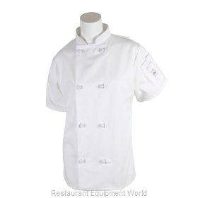 Mercer Tool M60024WH3X Chef's Jacket