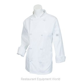 Mercer Tool M61040WHXXS Chef's Jacket
