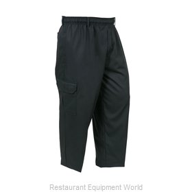 Mercer Tool M61090BK3X Chef's Pants
