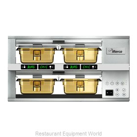 Merco Savory MHG22SAB2N Heated Cabinet, Countertop