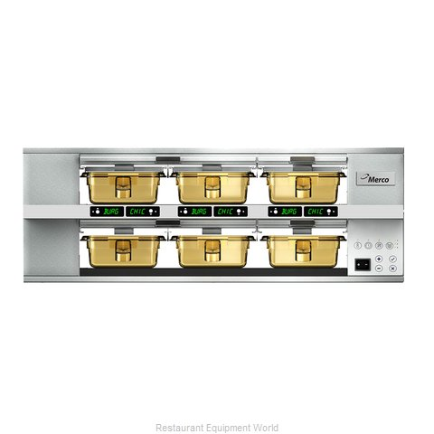 Merco Savory MHG23SAB1N Heated Cabinet, Countertop