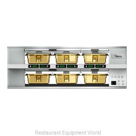 Merco Savory MHG23SAB2N Heated Cabinet, Countertop