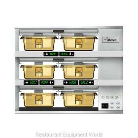 Merco Savory MHG32SAB2N Heated Cabinet, Countertop