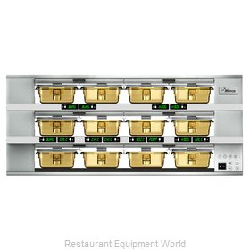 Merco Savory MHG34SAB2N Heated Cabinet, Countertop