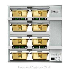 Merco Savory MHG42SAB2N Heated Cabinet, Countertop