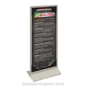 Menu Solutions ATT2S-BD Tabletop Sign, Tent / Menu