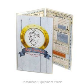 Menu Solutions CHS-300B Clear Heat Sealed Menu Covers