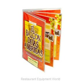 Menu Solutions CHS-800D Clear Heat Sealed Menu Covers