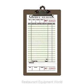 Menu Solutions CLIPCHECK-AL Guest Check Presenter