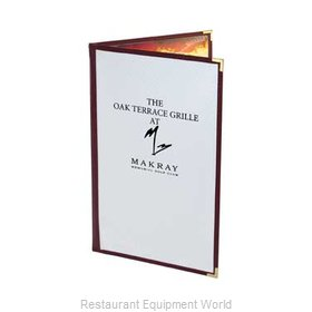 Menu Solutions CP410D Colored Panel Menu Covers