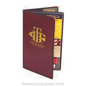 Menu Solutions CP450D Colored Panel Menu Covers