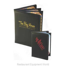 Menu Solutions E160BD Edwardian Menu Cover