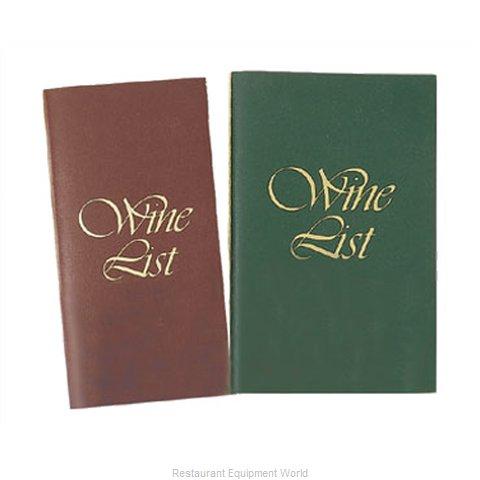 Menu Solutions L701B Wine List