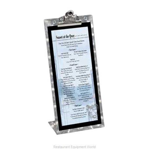 Menu Solutions MTCL-58 Tabletop Sign, Tent / Menu
