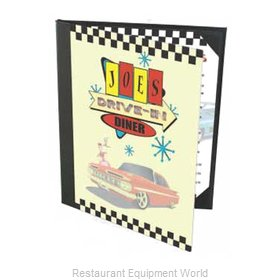 Menu Solutions PR60A Menu Cover