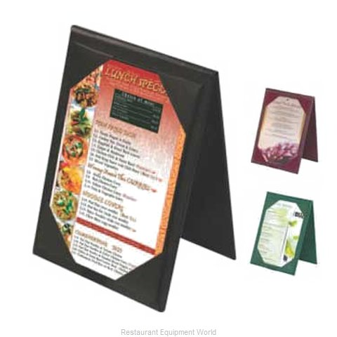 Menu Solutions TT067B Picture Corner Table Tent (Magnified)