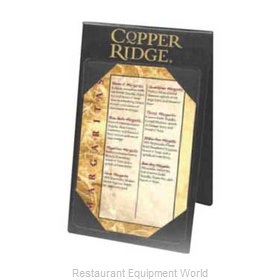 Menu Solutions TT070B Tabletop Sign, Tent / Menu