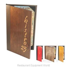 Menu Solutions W120BD Menu Cover