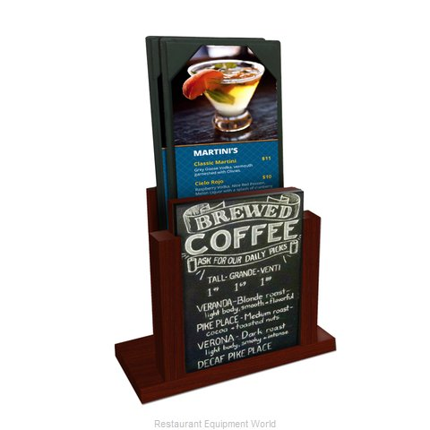 Menu Solutions WDMH-CHALK Tabletop Sign, Tent / Menu (Magnified)