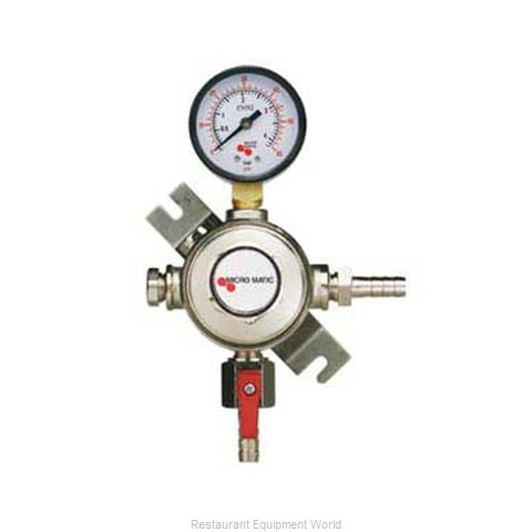Micro Matic 1161 CO2 Regulator (Magnified)
