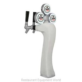 Micro Matic 6403-C-F-M Draft Beer / Wine Dispensing Tower