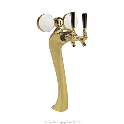 Micro Matic 6602-G-M Draft Beer Dispensing Tower Head Unit (Magnified)