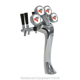 Micro Matic 6604-C-M Draft Beer Dispensing Tower Head Unit