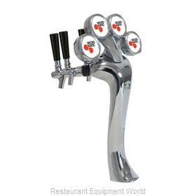 Micro Matic 6604-C-M Draft Beer / Wine Dispensing Tower