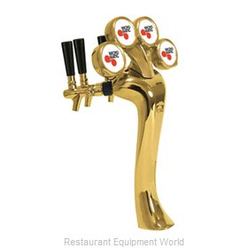 Micro Matic 6604-G-M Draft Beer Dispensing Tower Head Unit