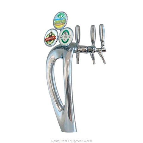 Micro Matic 9503-C-M Draft Beer / Wine Dispensing Tower