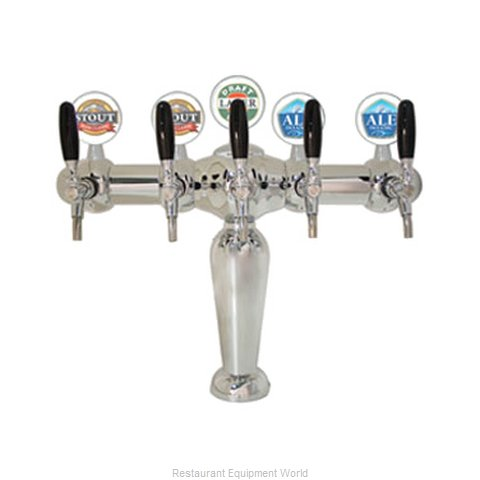 Micro Matic BRIG-C-5-M Draft Beer Dispensing Tower Head Unit