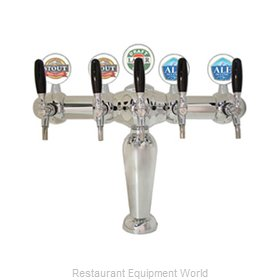 Micro Matic BRIG-C-5-M Draft Beer / Wine Dispensing Tower