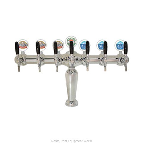 Micro Matic BRIG-C-7-M Draft Beer / Wine Dispensing Tower