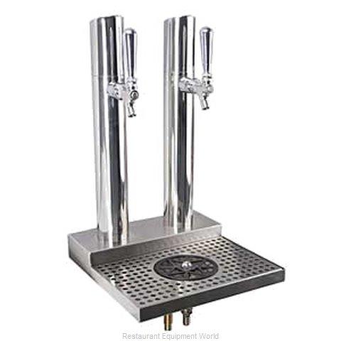 Micro Matic BS-SKY-2PSSKR Draft Beer / Wine Dispensing Tower