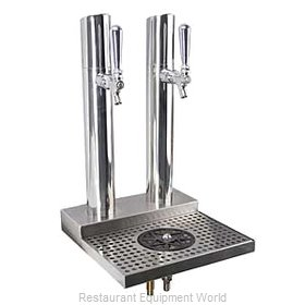 Micro Matic BS-SKY-2PSSKR Draft Beer / Wine Dispensing Tower