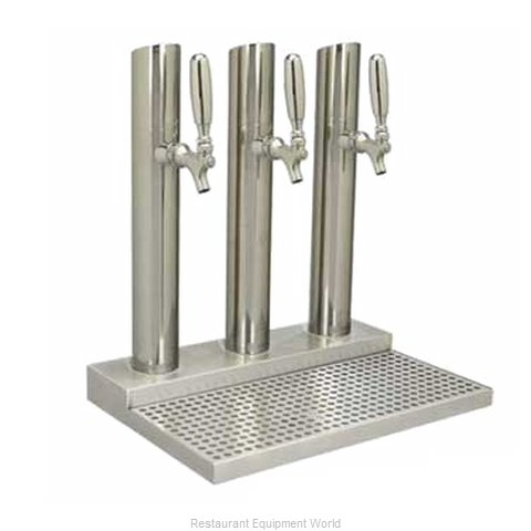Micro Matic BS-SKY-3PSSKR-LR Draft Beer Dispensing Tower Head Unit