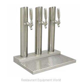 Micro Matic BS-SKY-3PSSKR-LR Draft Beer / Wine Dispensing Tower