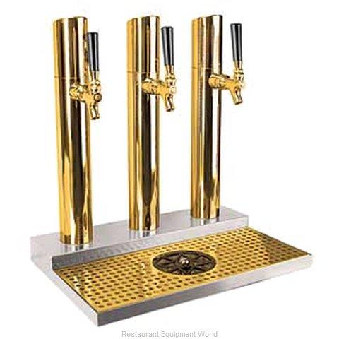 Micro Matic BS-SKY-3PVDKR Draft Beer / Wine Dispensing Tower