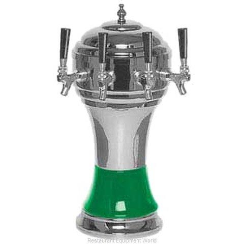 Micro Matic CT900-4CH Draft Beer Dispensing Tower