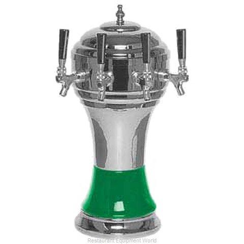 Micro Matic CT900-4CHKR Draft Beer / Wine Dispensing Tower