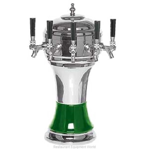 Micro Matic CT900-5CH Draft Beer Dispensing Tower Head Unit